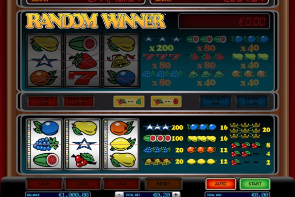 Fruitautomaten in het online casino