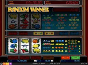 Fruitautomaten in het online casino