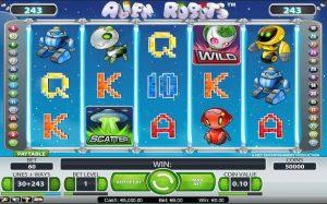 Netent game review: Alien Robots