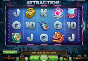 Attraction game review