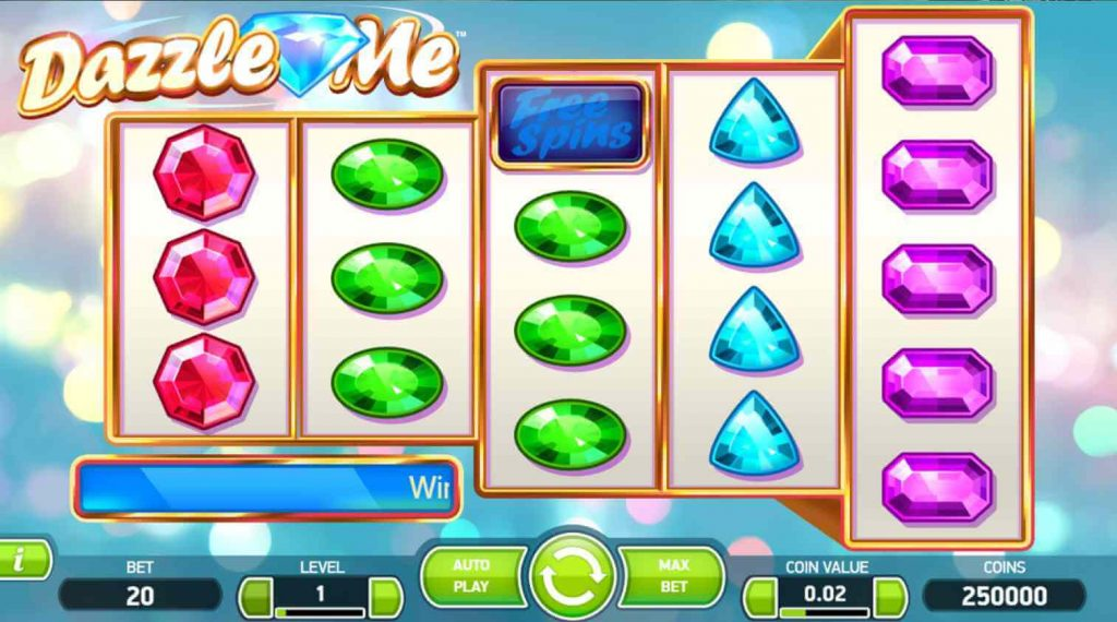 Netent game review: Dazzle Me